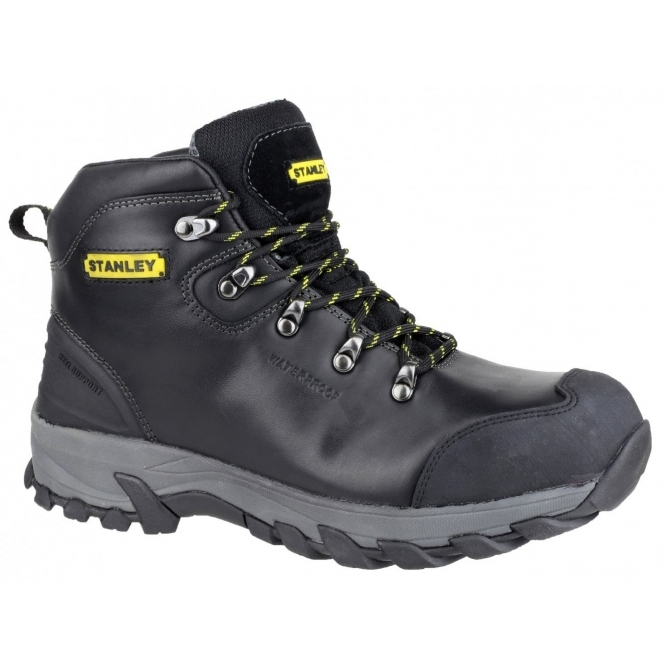 Stanley KINGSTON Mens Steel S3 SRA P Safety Boots Black