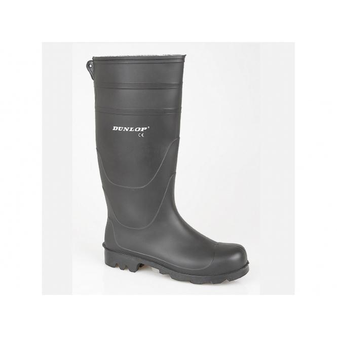 Dunlop UNIVERSAL Mens Easy Clean Wellington Boots Black