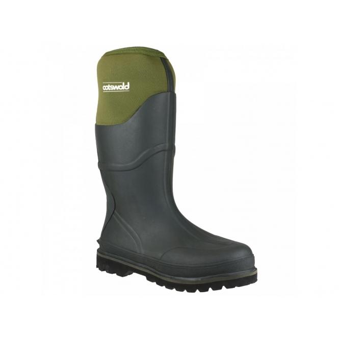 Cotswold RANGER NEOPRENE Mens Wellington Boots Green