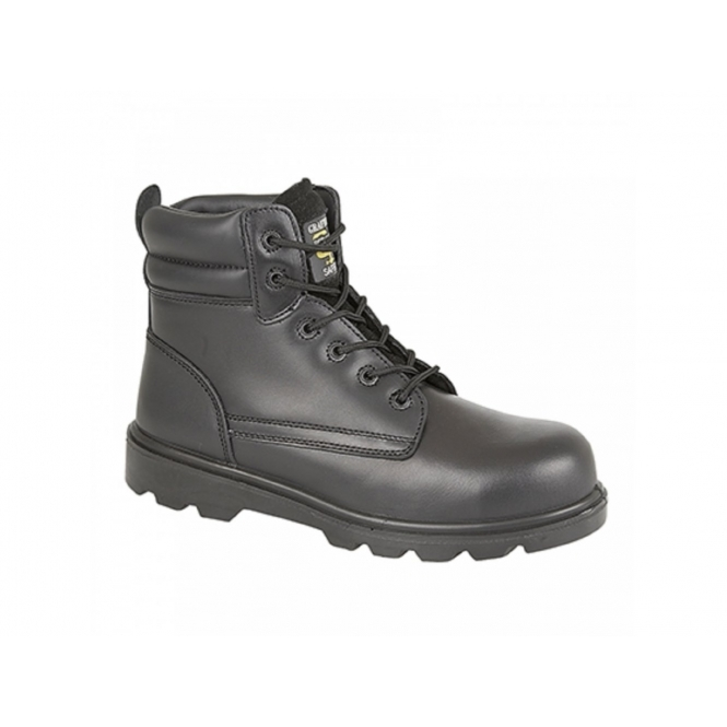 Grafters M133A Mens S1 SRC Metal-Free Safety Boots Black