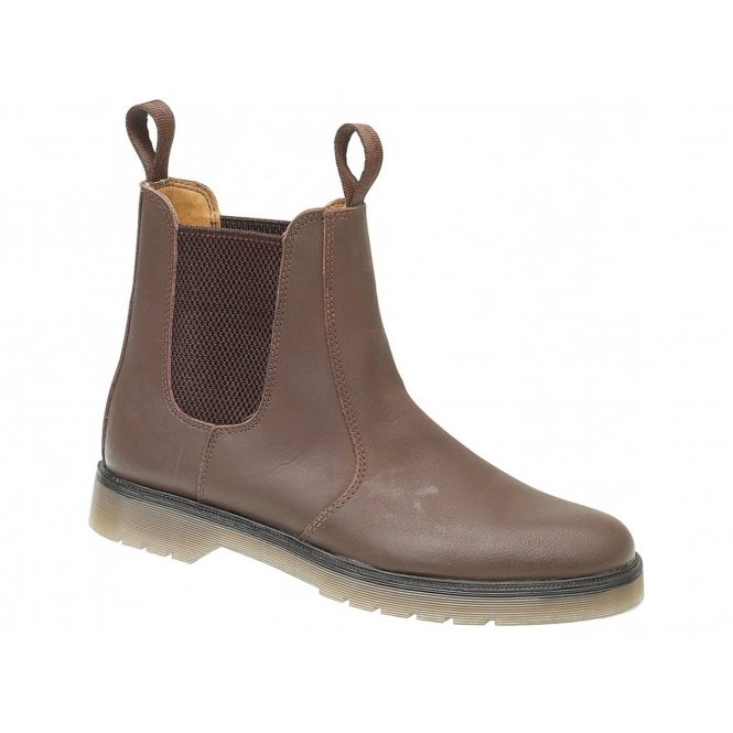 Amblers CHELMSFORD Unisex Casual Dealer Boots Brown