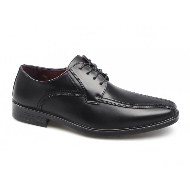 Shoe Avenue CALLUM Mens Lace-Up Shoes Black