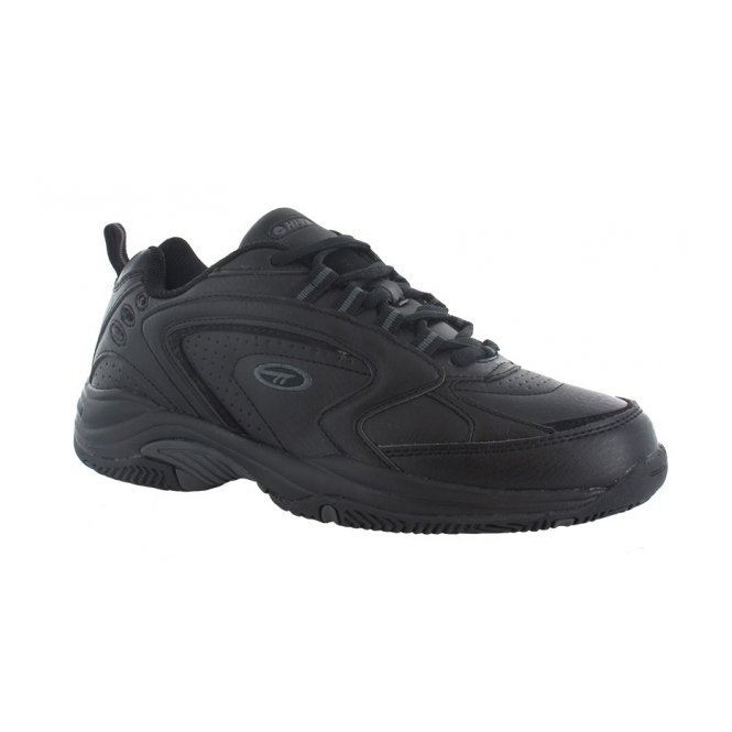 Hi-Tec BLAST LITE Mens Lace Up Trainers Black