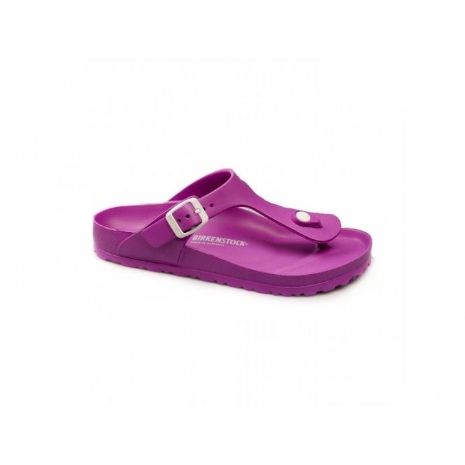birkenstock gizeh ladies eva toe post flat sandals pink. Black Bedroom Furniture Sets. Home Design Ideas