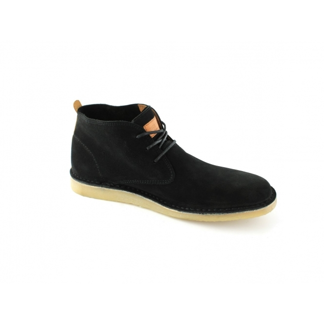 Jack & Jones JJ DARAN Mens Suede Desert Boots Black