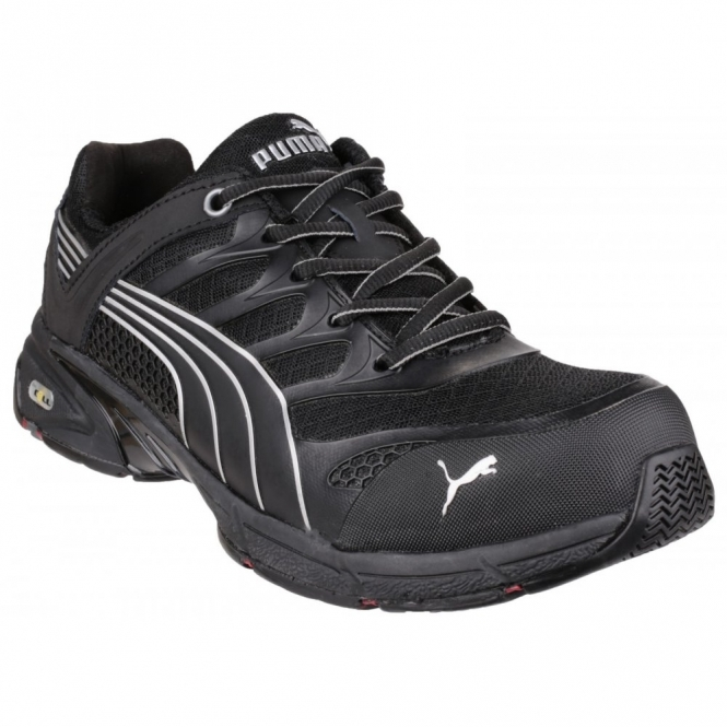 Puma Safety FUSE MOTION 642580 Mens S1 HRO SRA Safety Trainers Black