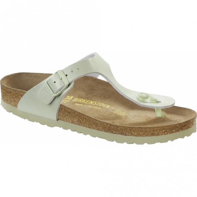 Birkenstock GIZEH Ladies Toe Post Sandals Graceful Mint