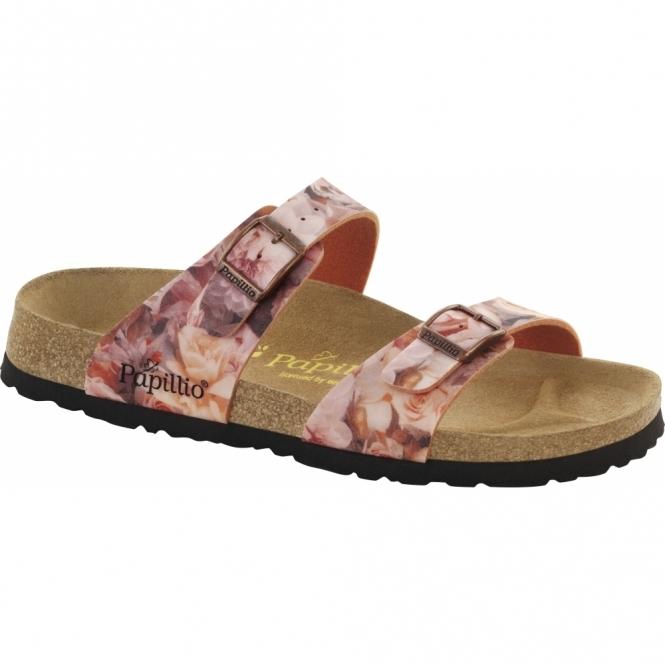 Papillio By Birkenstock SYDNEY Ladies Buckle Sandals Silky Red