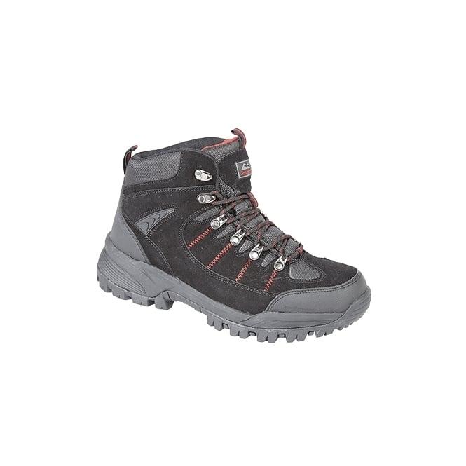 Johnscliffe SIERRA Unisex WP Hiking Boots Black
