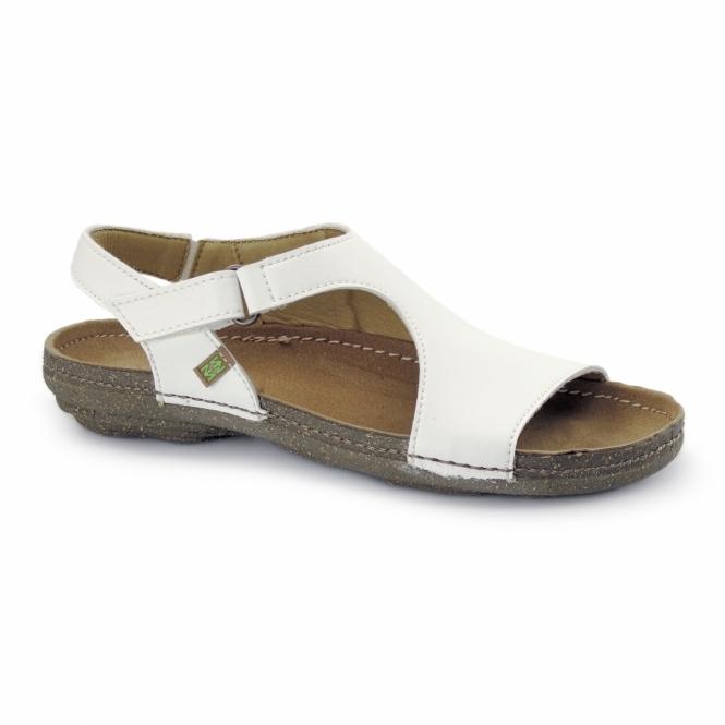 El Naturalista N378 Ladies Vegan Sandals White