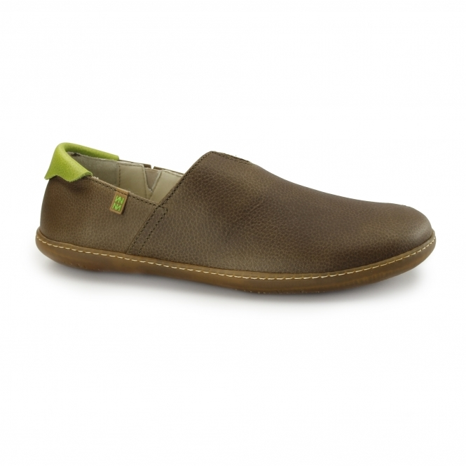 El Naturalista NW275 Ladies Leather Shoes Kaki/Green