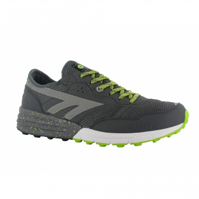 Hi-Tec BADWATER Mens Sports Trainers Limoncello/Silver