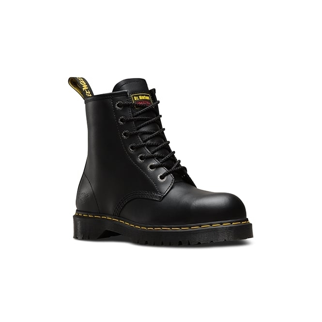 Dr Martens ICON 7B10 SSF Mens SB SRA Safety Boots Black Haircell