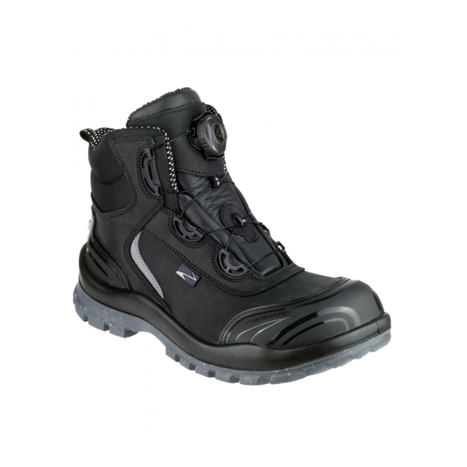 Pezzol MOONWALKER 911 Mens S3 HRO SRC WP Safety Boots Black