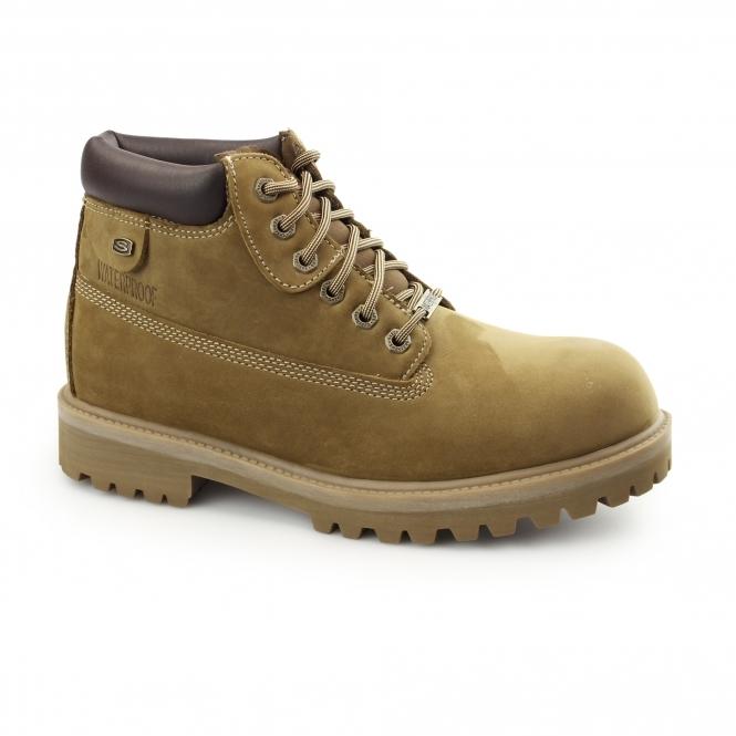 Skechers SERGEANTS VERDICT Mens Waterproof Boots Desert
