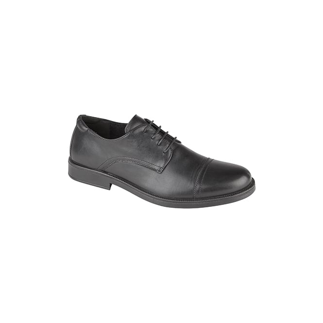 IMAC TRISTAN Mens Leather Capped Derby Brouges Black