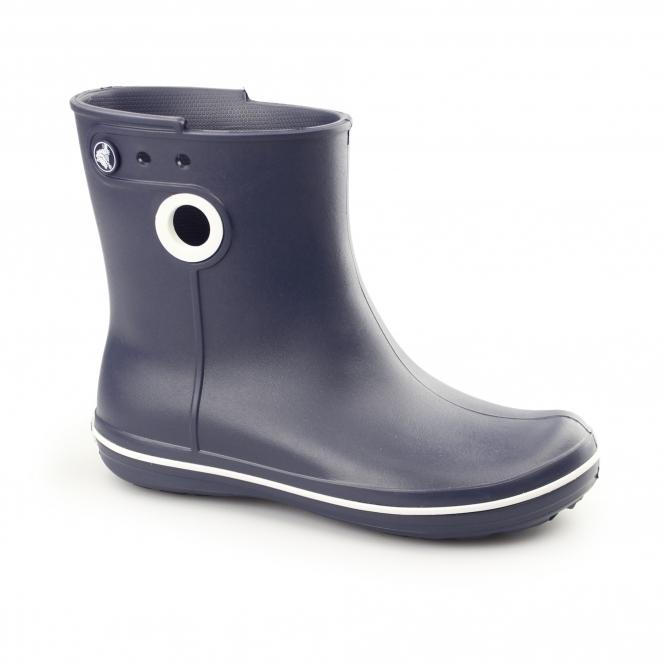 Crocs JAUNT SHORTY Ladies Short Wellington Boots Navy