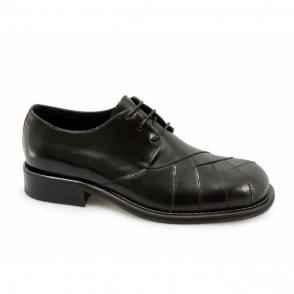 ZODIAC Mens Polished Leather MOD Shoes Black