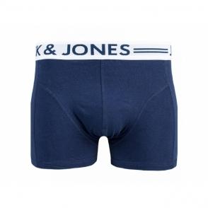 SENSE Mens Boxer Shorts Trunks Dress Blue