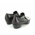 Shuperb NASSER Mens Soft Leather Plain Cuban Heel Shoes Brown