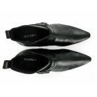 Gucinari RODRIGO Mens Cuban Heel Winklepicker Buckle Boots Black
