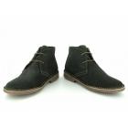 Ikon GOBI Mens 2 Eyelet Suede Desert Boots Olive Green