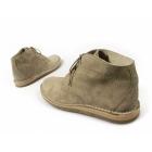 Ikon NOMAD Mens 3 Eyelet Suede Desert Boots Beige