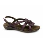 Boulevard TAMARA Ladies Flat Open Toe Sandals Purple