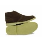 BXT CORY Mens Original Suede Leather Desert Boots Dark Brown