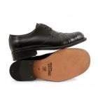 Ikon ZODIAC Mens Polished Leather MOD Shoes Black