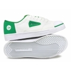 Dunlop GREEN FLASH Unisex Retro Trainers White/Green
