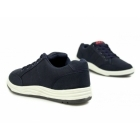 DEK CHARLIE Mens Canvas 5 Eyelet Leisure Shoes Navy
