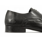 Ikon JAM Mens Leather Pointed Shoes Black