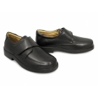 Roamers GRAHAM Mens Velcro Light XXX Extra Wide Shoes Black
