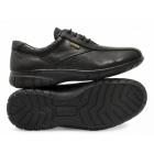 Cotswold SALFORD Ladies Waterproof Leather Shoes Black