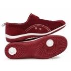 Boulevard KIMBERLEY Ladies Centre Zip Mesh Leisure Shoes Red
