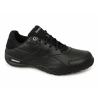 Reebok CRUZ AWAY Mens Leather Soft Ortholite Walking Trainers Black