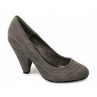 Carlton London MINERVA Ladies Faux Suede High Heels Shoes Mink