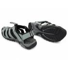 PDQ SASHA Ladies Toggle & Velcro Summer Trail Sandals Grey