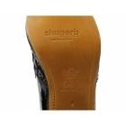 Shuperb JOAQUIN Mens Patent Diamante Cuban Heel Shoes Black