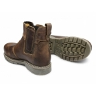 Amblers Safety FS165 Unisex SB P SRA Chelsea Safety Boots Brown