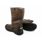 Stanley ASHLAND Mens S3 Waterproof Safety Rigger Boots Brown