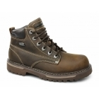 Skechers COOL CAT BULLY II Mens Oily Leather Boots Brown
