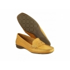 Cotswold COATES Ladies Leather Penny Loafers Tan