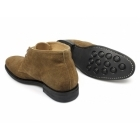 Lucini HARRISON Mens Suede Chukka Boots Snuff