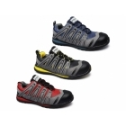 Amblers Safety FS34C Mens Metal Free Composite Safety Trainers Blue/Grey