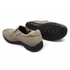 Renegade Sole JOEY Mens Faux Nubuck Slip-On Shoes Stone