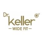 Dr Keller BRIAN Mens Leather Lace Up Wide Fit Shoes Black