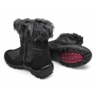 Antonio Dolfi DAHLIA Ladies Faux Fur Warm Winter Boots Black