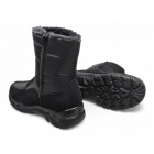 Stallion LIAM Mens Faux Fur Lined Warm Winter Boots Black